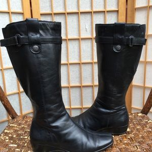 a613b57a04f Ecco Black Leather Boots SZ 40. Ecco Black Leather Boots SZ 40.  50  0. Ecco  Womens Knee-High GoreTex Boots DR01040 ...
